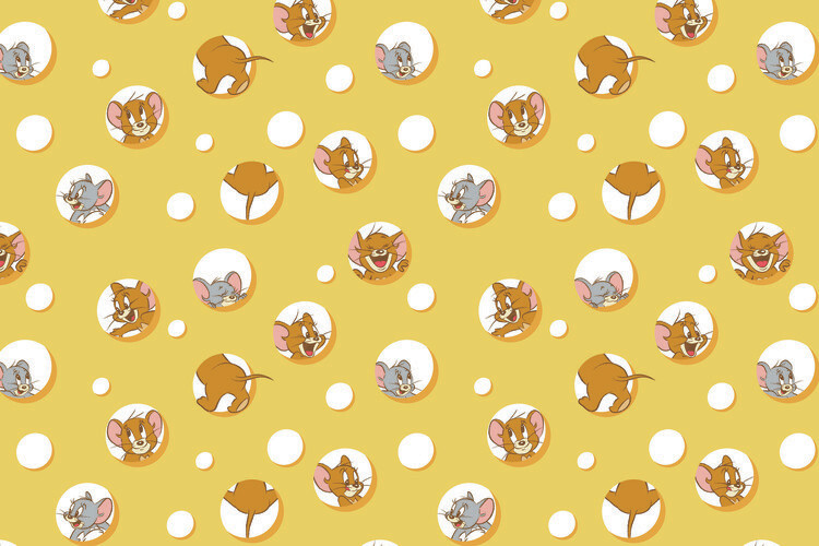 Tom and Jerry - I love Cheese Tapéta, Fotótapéta