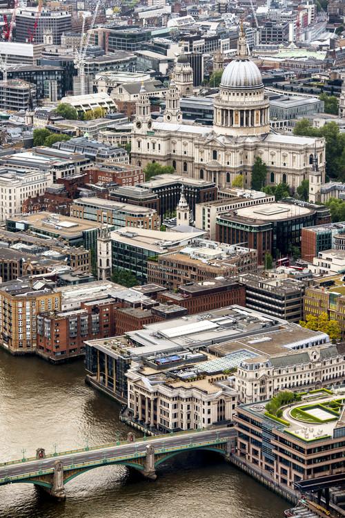 View of City of London with St. Paul's Cathedral Tapéta, Fotótapéta