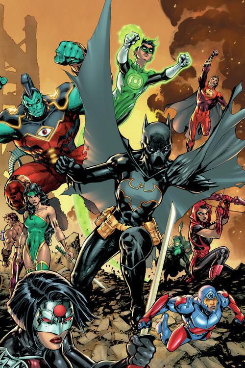Batgirl Fototapeta