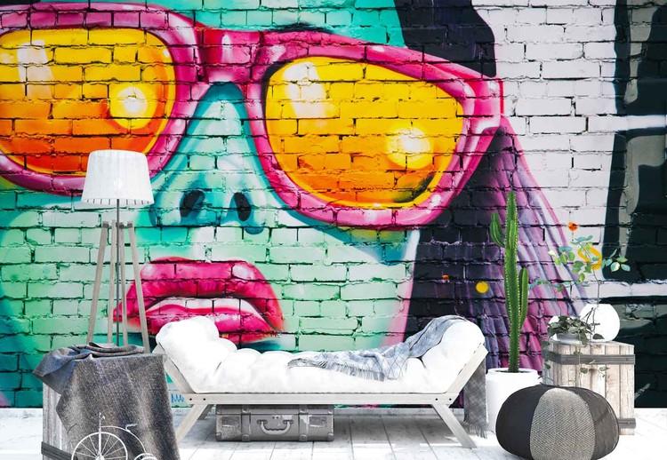 Bright Bricks Fototapeta