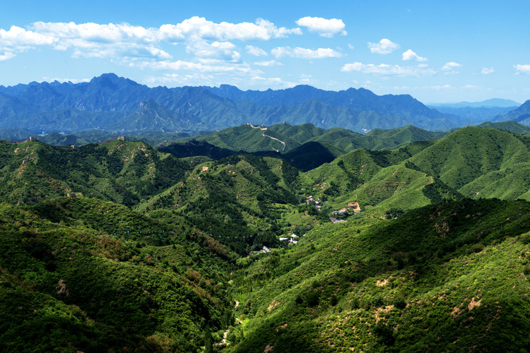 China 10MKm2 Collection - Great Wall of China Fototapeta