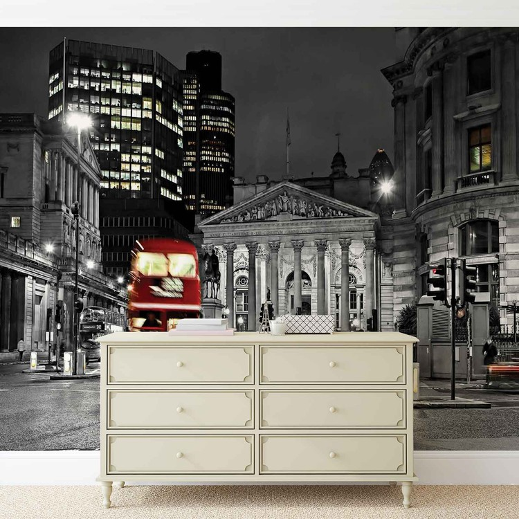 City London Bus Red Fototapeta