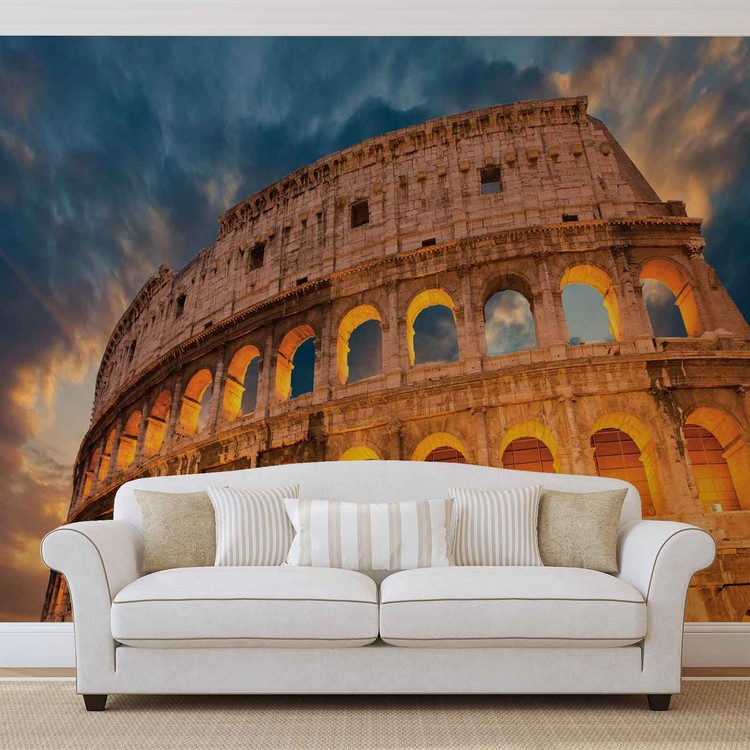 Colosseum City Sunset Fototapeta