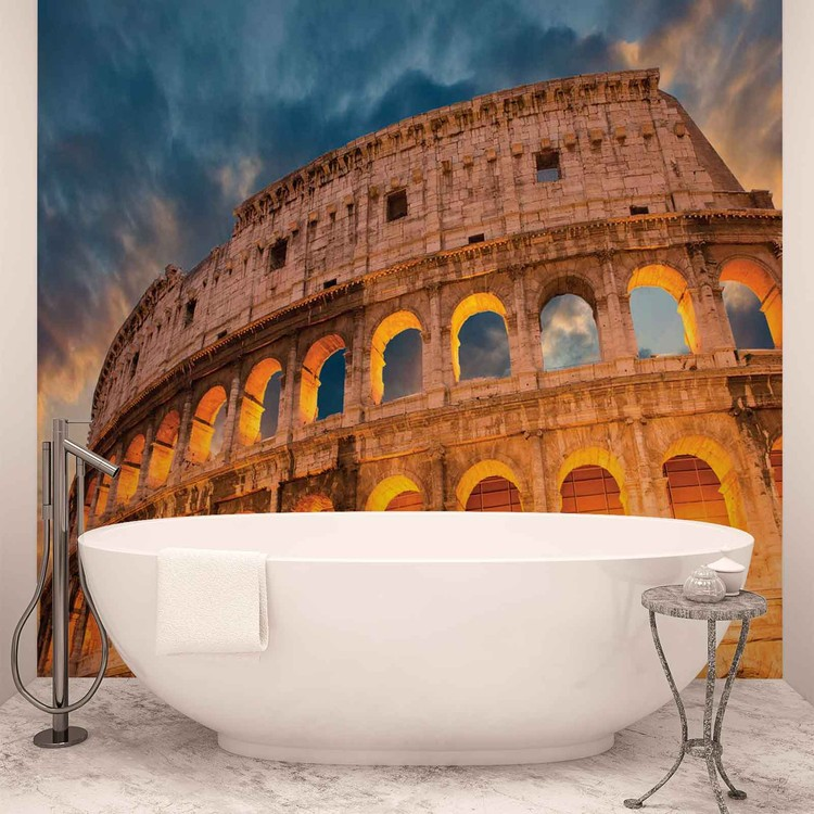 Colosseum City Sunset Fototapeta