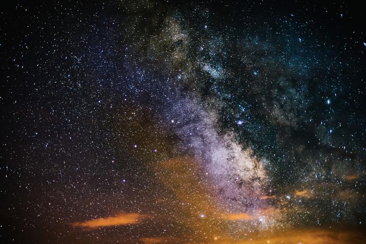 Details of Milky Way of St-Maria multicolour graded II Fototapeta