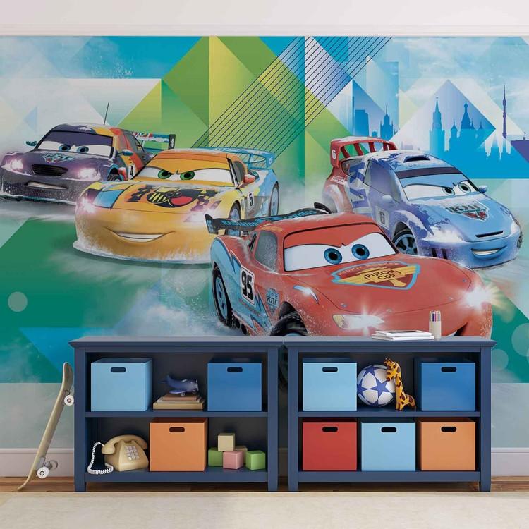 Disney Cars Lightning McQueen Camino Fototapeta