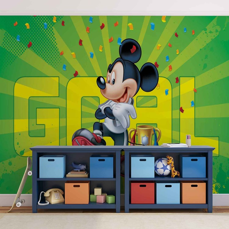 disney mickey mouse tapeta zidne tapete. Black Bedroom Furniture Sets. Home Design Ideas