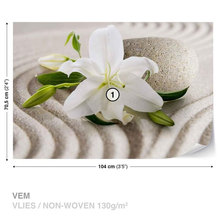 Flower Sand Fototapeta