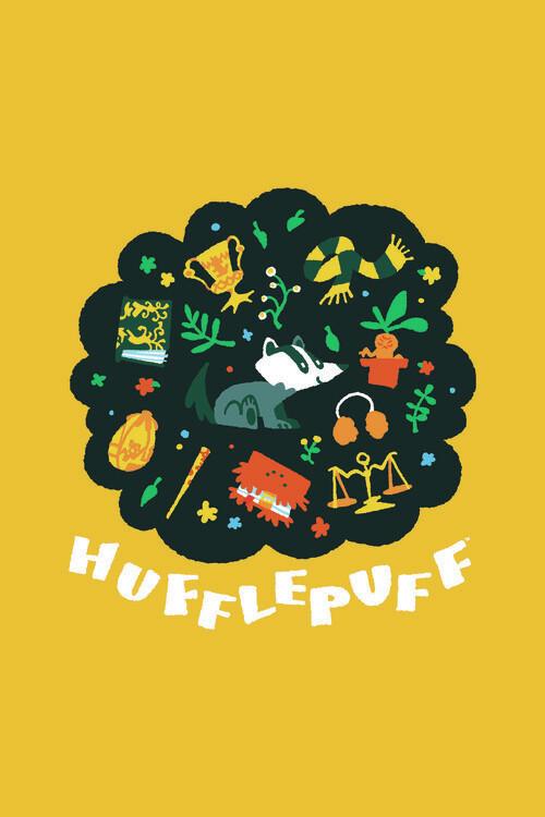 Harry Potter - Pihpuff Fototapeta
