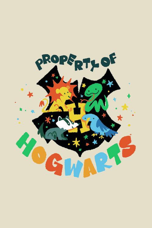 Harry Potter - Rokfort Fototapeta