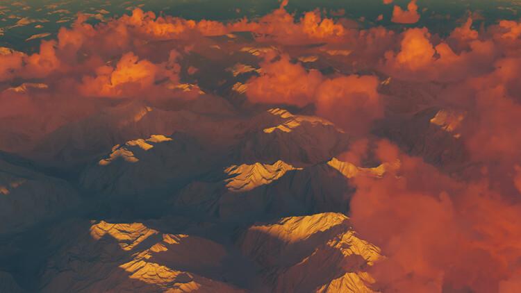 Hyper Real Landscapes series 1 Fototapeta