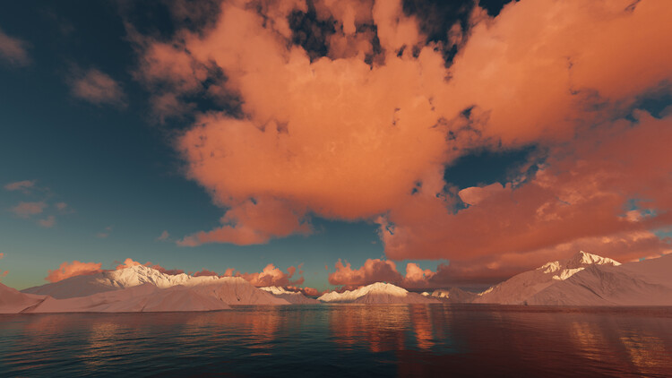 Hyper Real Landscapes series 4 Fototapeta
