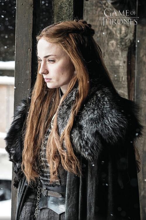 Igra prijestolja - Sansa Stark Fototapeta