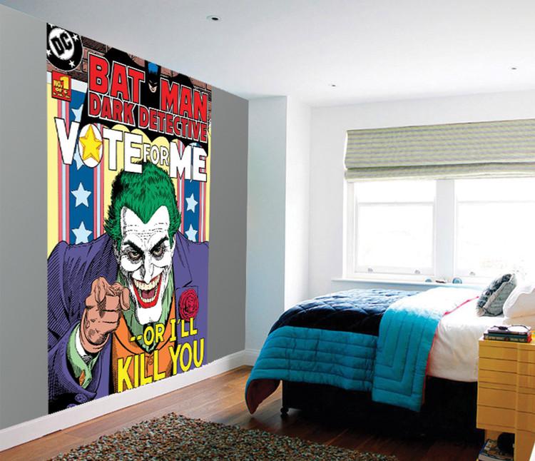 Joker - Vote Me or I'll Kill You Fototapeta