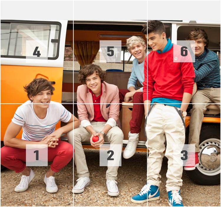 One Direction - Campervan Fototapeta
