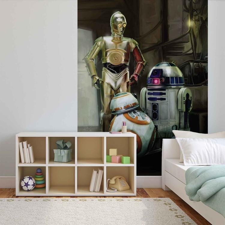 Star Wars Droids Fototapeta