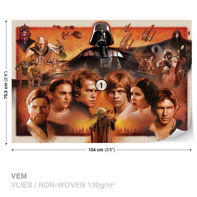 Star Wars Force Awakens Fototapeta