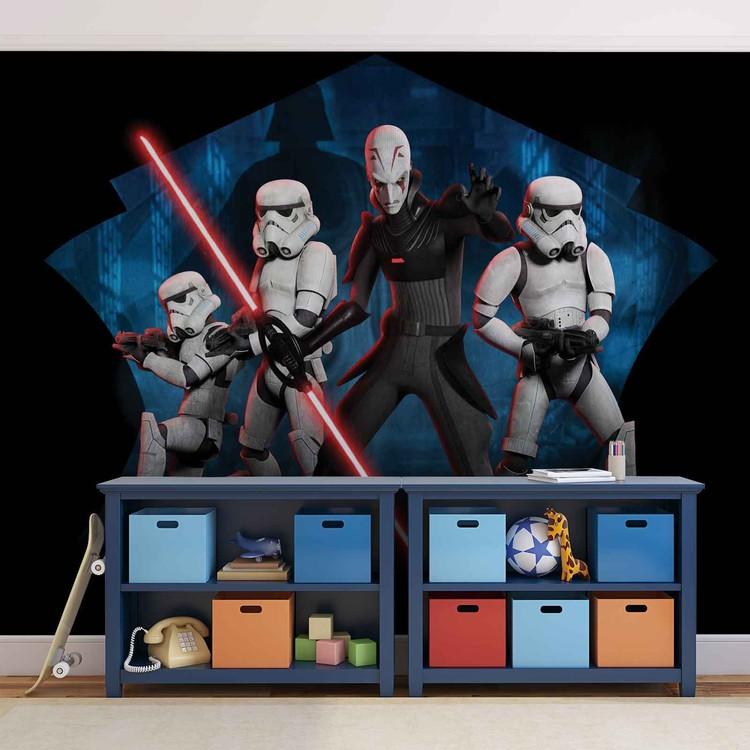 Star Wars Rebels Inquisitor Sith Fototapeta