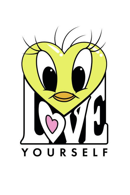 Tweety - Love Fototapeta