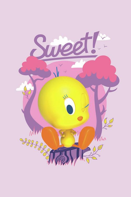 Tweety - Sweet Fototapeta