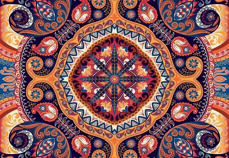 Vintage Ethnic Pattern Fototapeta