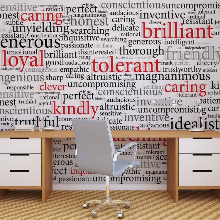 Words Motivational Fototapeta