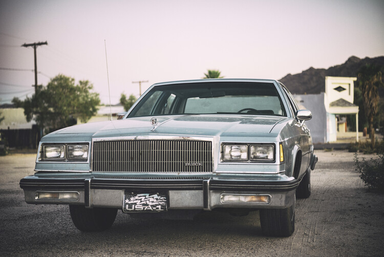 American West - US Buick Fototapete
