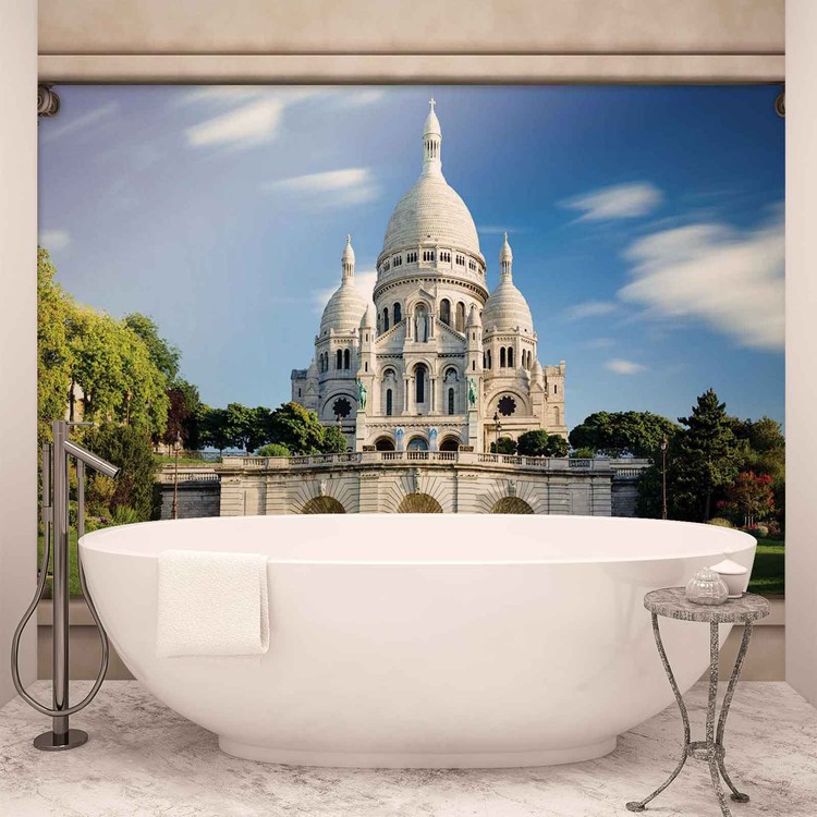 Ausblick Spalten Paris Sacre Coeur Fototapete