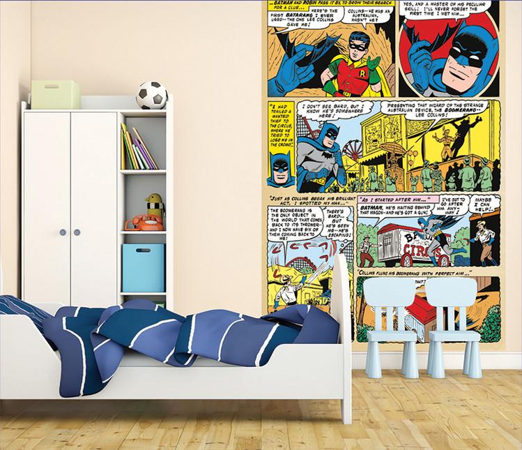 Batman and Robin Comic Fototapete