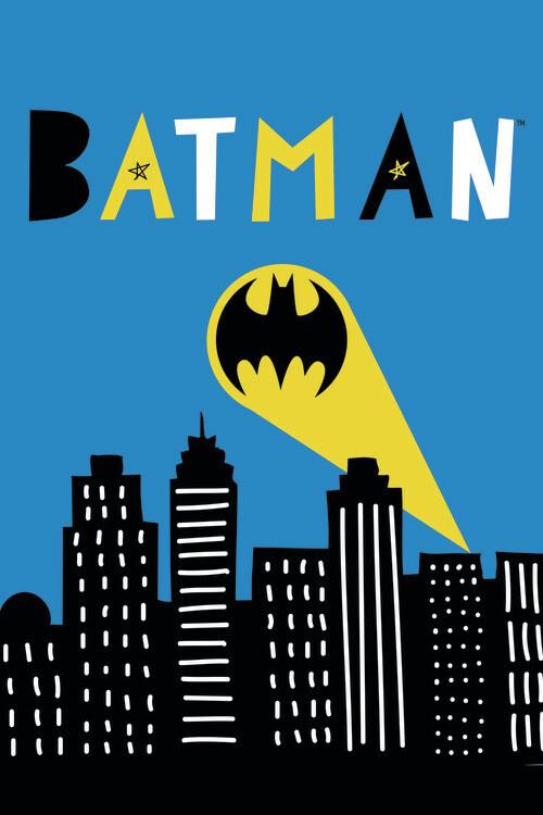 Batman - Light signal Fototapete