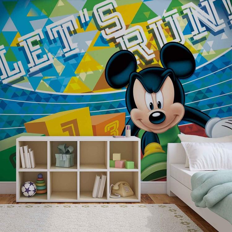 Fototapete, Tapete Disney Micky Maus bei EuroPosters - Kostenloser ...