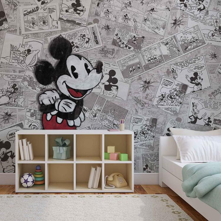 Disney Micky Maus Vintage Fototapete