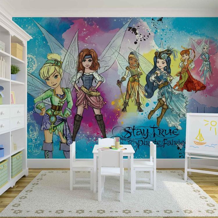 Disney Pirate Fairies Fototapete