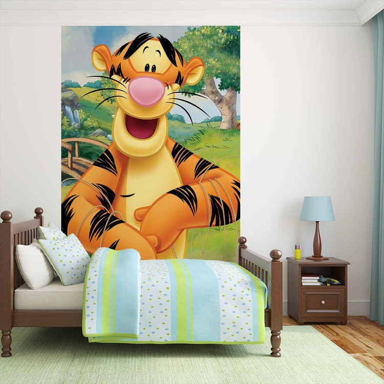 Disney Winnie Pu Bär Tiger Fototapete
