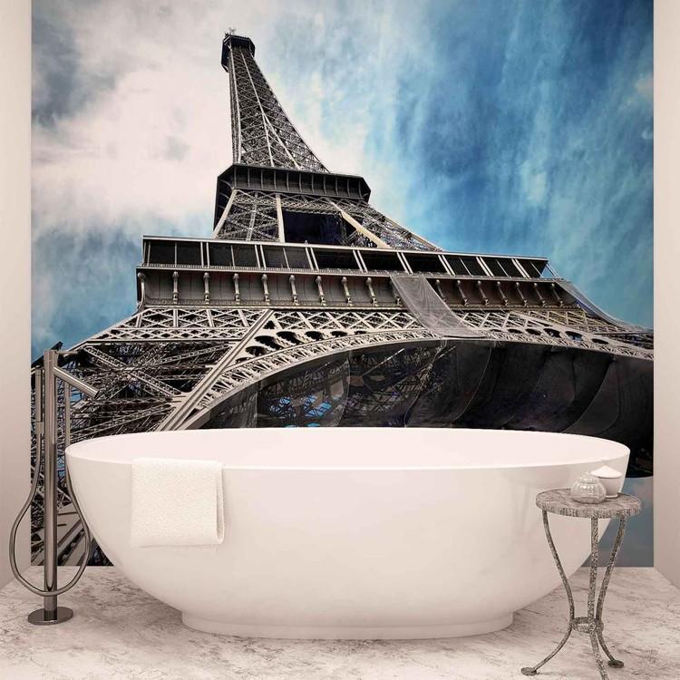 Eiffelturm Paris Stadt Fototapete