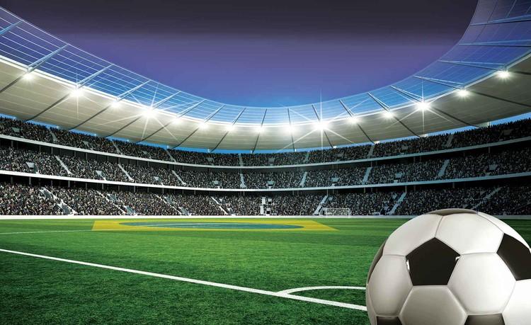 Fototapete Tapete Fussball Stadion Sport Bei Europosters Kostenloser Versand