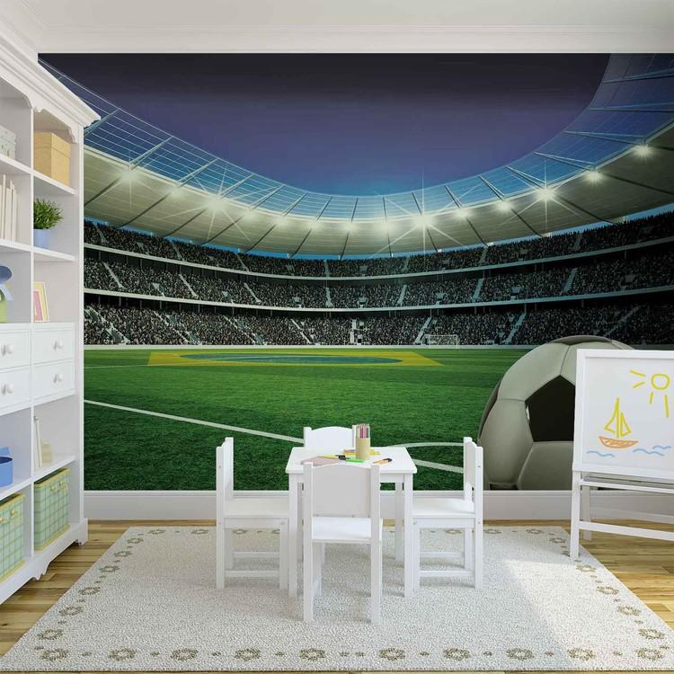 Fussball Stadion Sport Fototapete