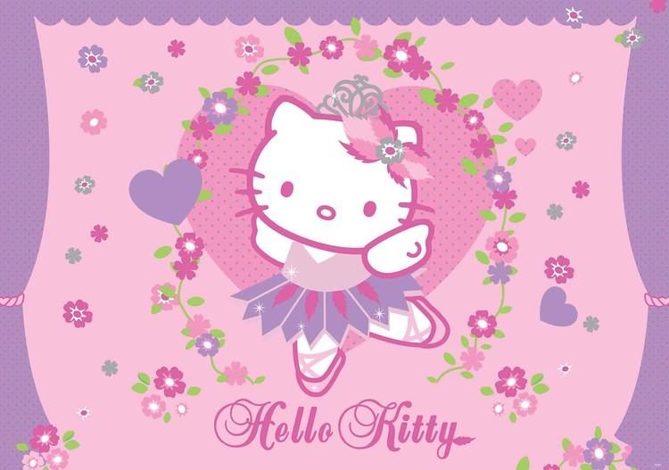 Hello Kitty Fototapete