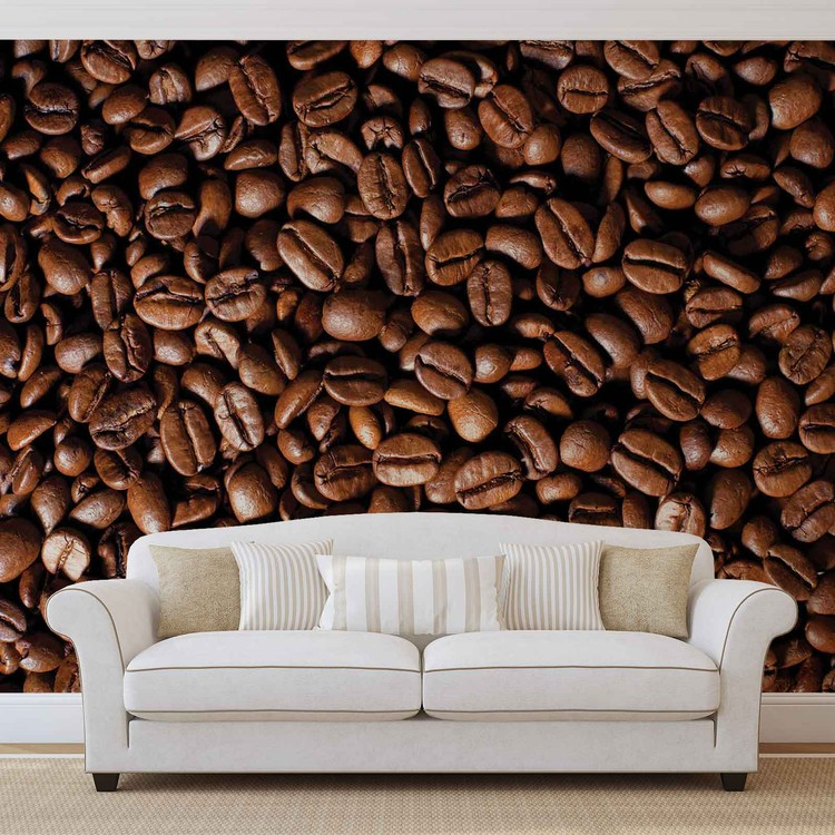 Kaffeebohnen Fototapete