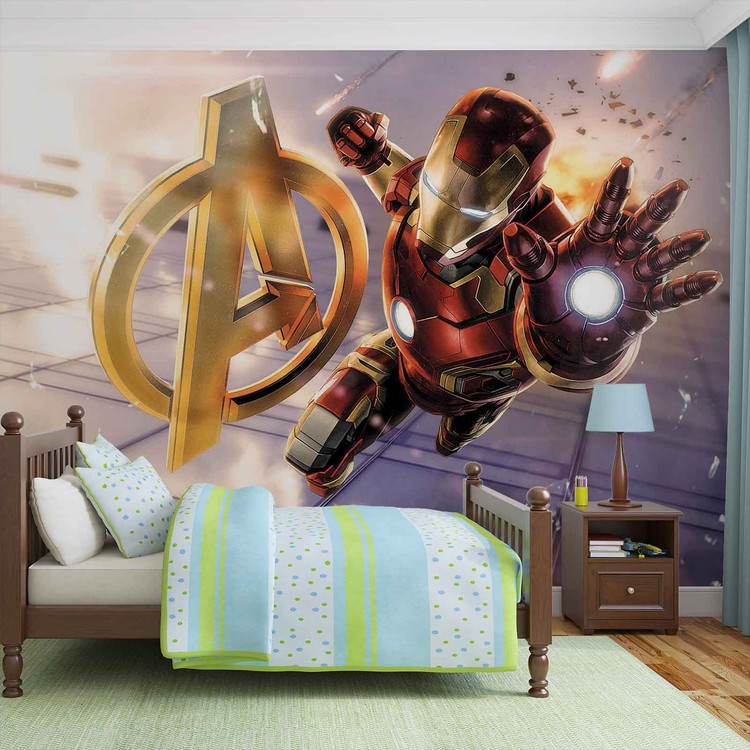 Fototapete, Tapete Marvel Avengers Iron Man Bei EuroPosters   Kostenloser  Versand