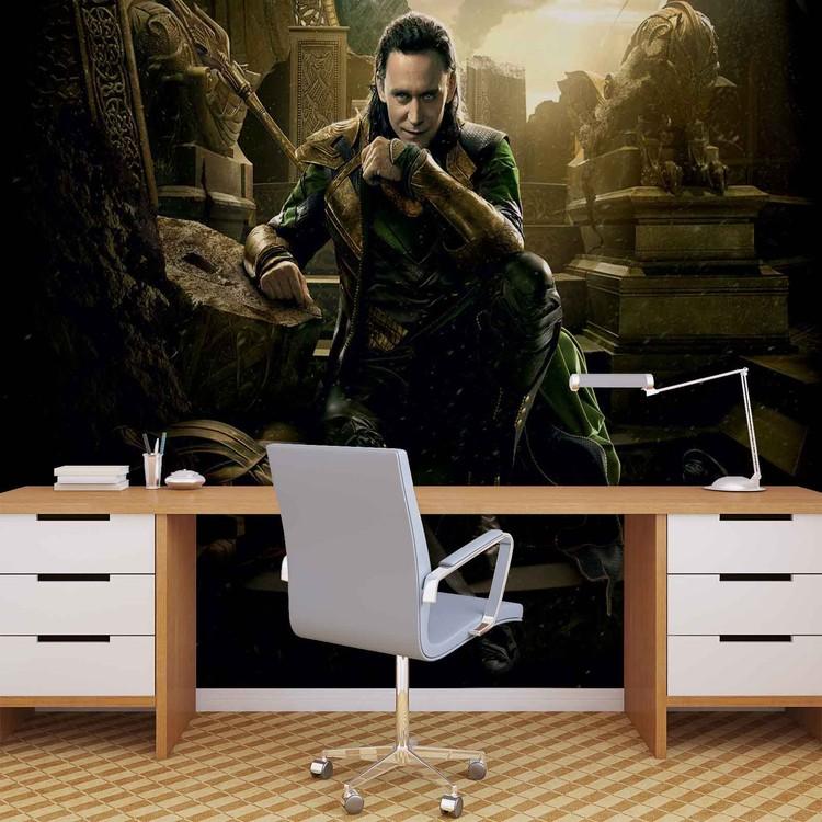 Marvel Avengers Loki Fototapete