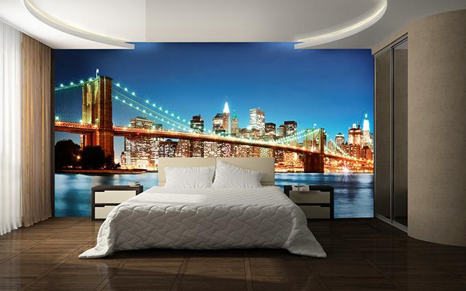 NEW YORK EAST RIVER  Fototapete