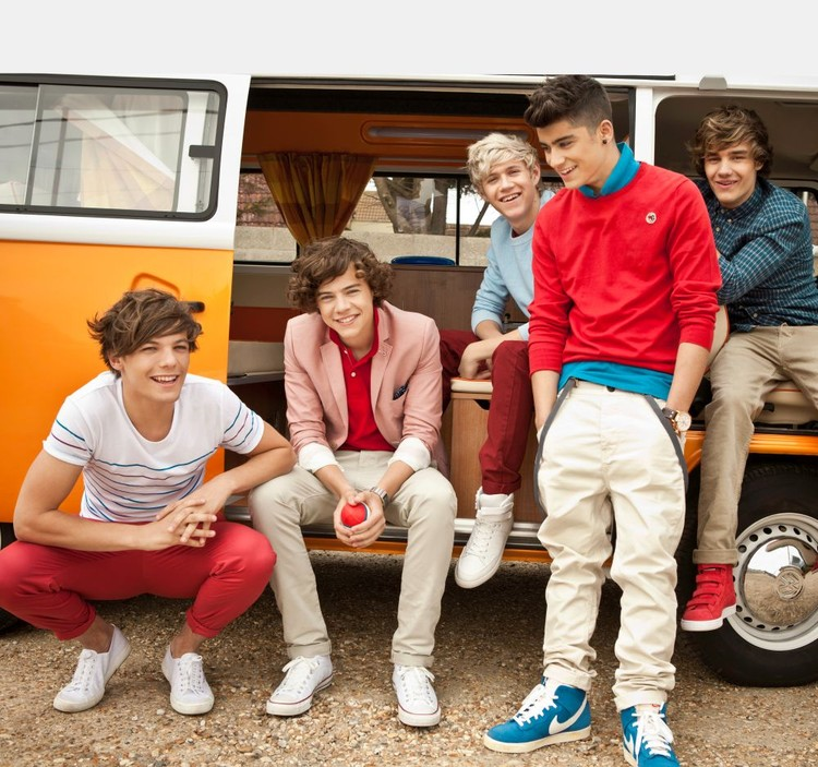 One Direction - Campervan Fototapete