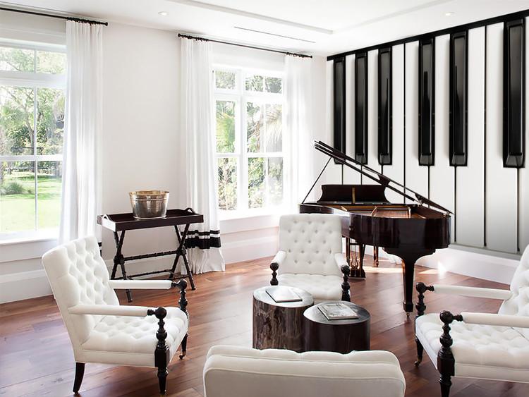 Piano - Keys Fototapete