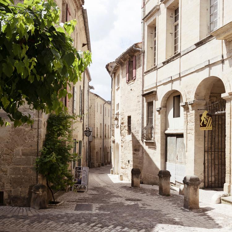 Provencal Street Scene Fototapete