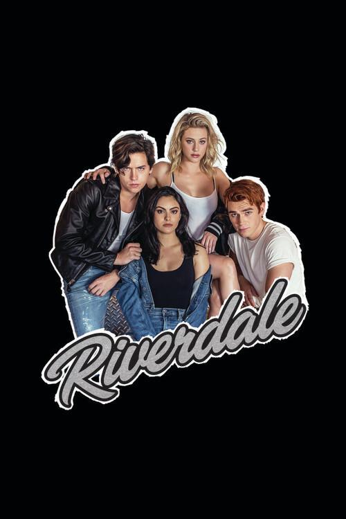 Riverdale - Hauptfiguren Fototapete