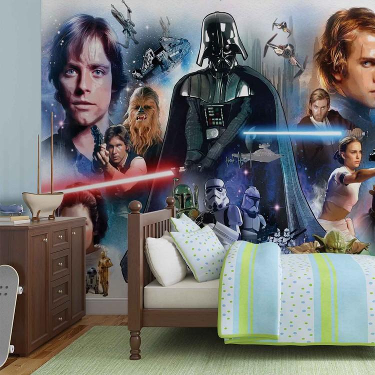 fototapete tapete star wars bei europosters kostenloser versand. Black Bedroom Furniture Sets. Home Design Ideas
