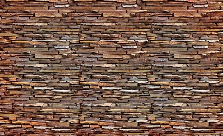 Steinmauer Fototapete