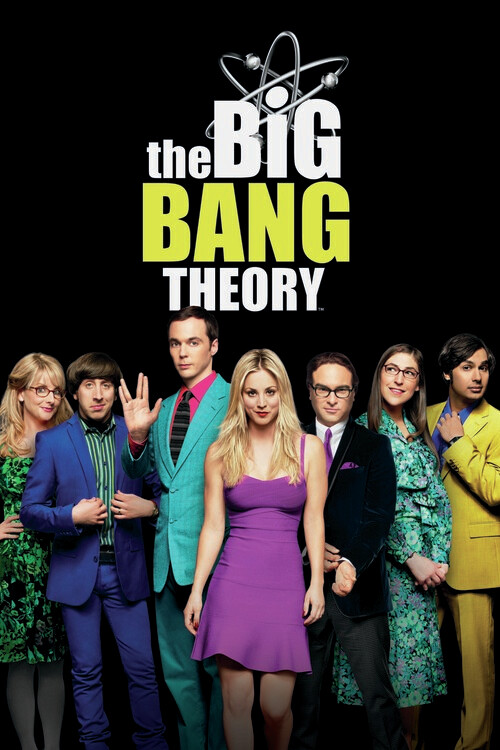 The Big Bang Theory - Kader Fototapete