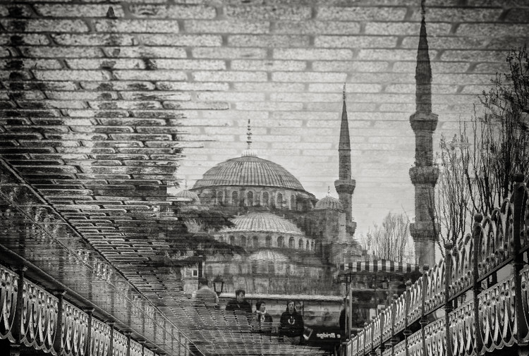 The Blue Mosque II Fototapete